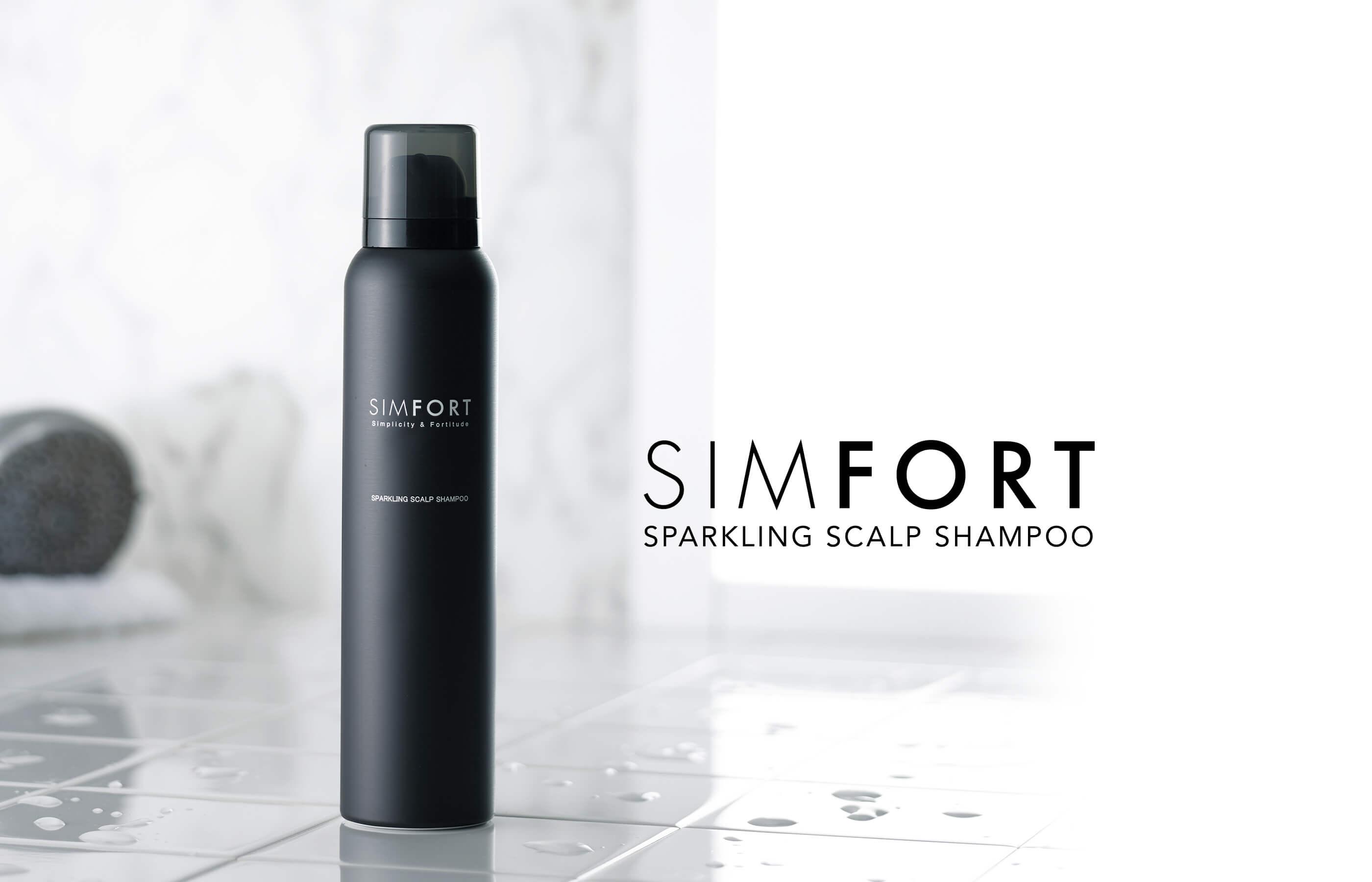 SIMFORT SPARKLING SCALP SHAMPOO